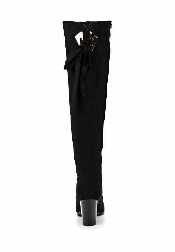 фото Женские ботфорты на каблуке Inario IN029AWCMD97, черные