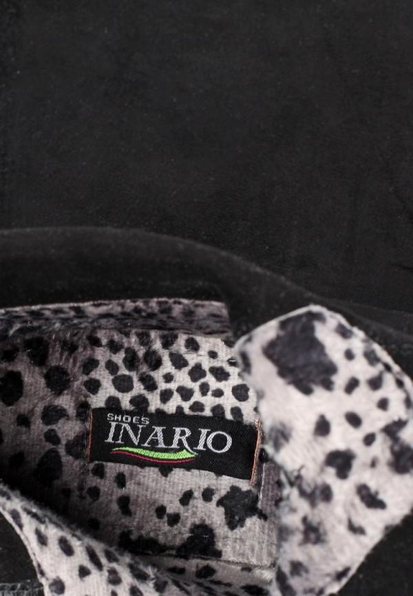 фото Женские демисезонные ботфорты Inario IN029AWCME03, черные