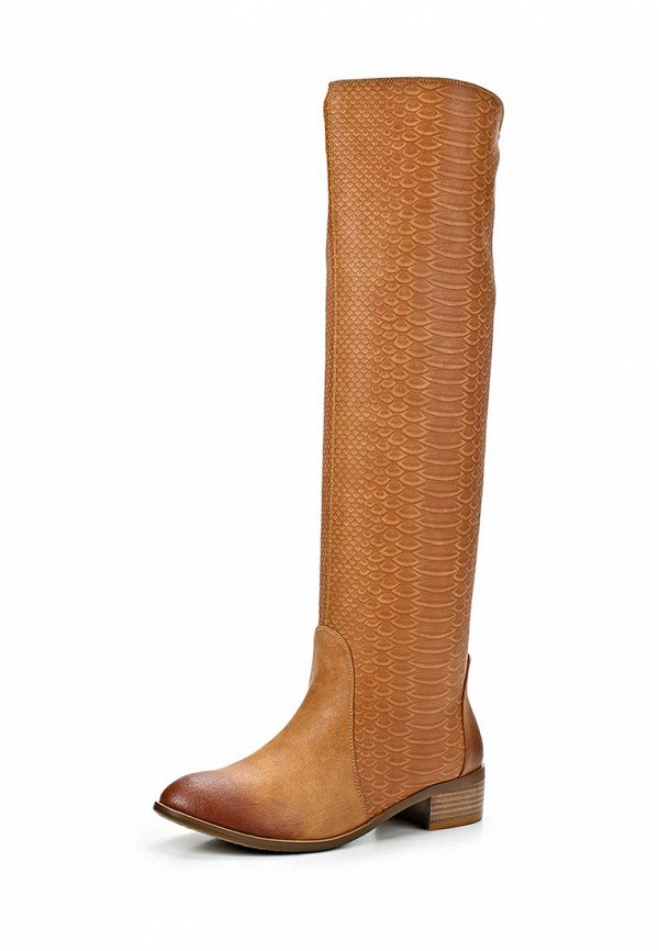 фото Женские сапоги-ботфорты Inario IN029AWCME32, светло-коричневые