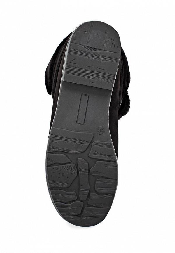 фото Ботинки женские Inario IN029AWCMF21, черные с мехом