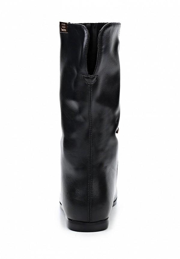 фото Женские полусапожки без каблука Inario IN029AWCMF67, черные