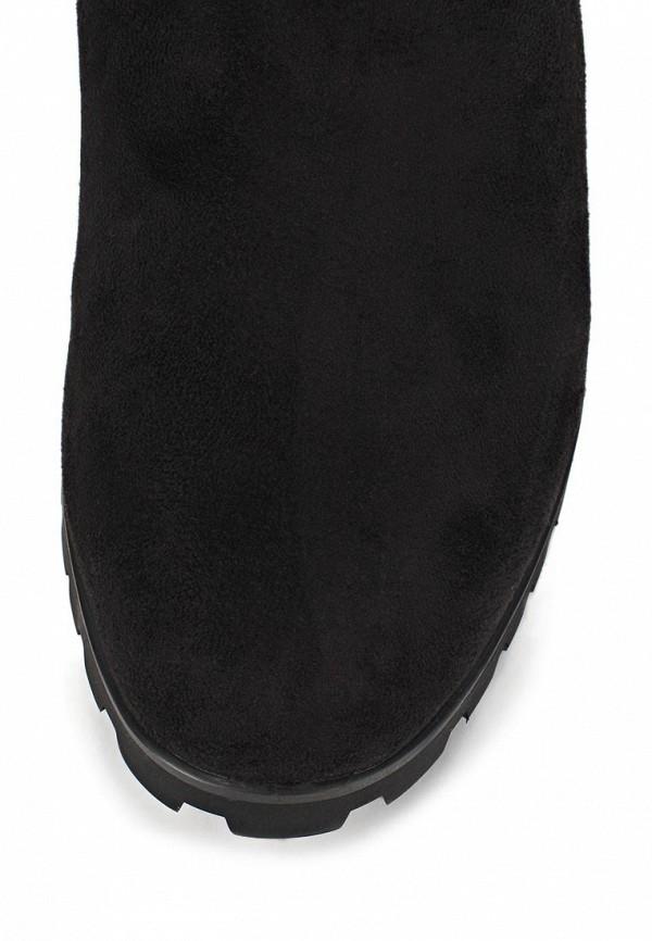 фото Сапоги женские на плоской подошве Inario IN029AWCMG23, черные
