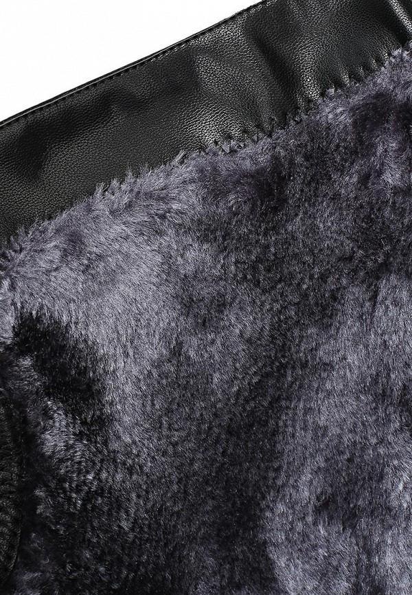 фото Сапоги женские Inario IN029AWCMG77, черные кожаные