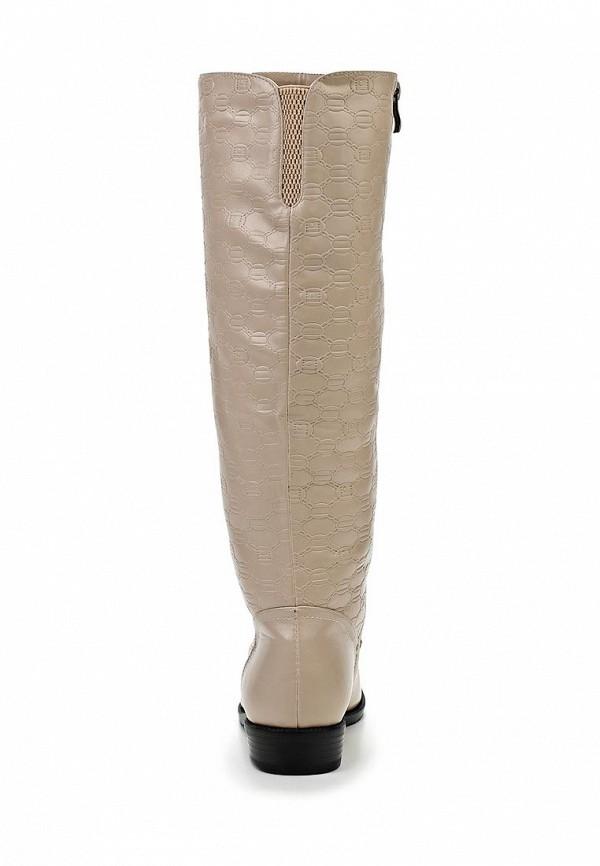фото Сапоги женские Inario IN029AWCMG78, бежевые кожаные