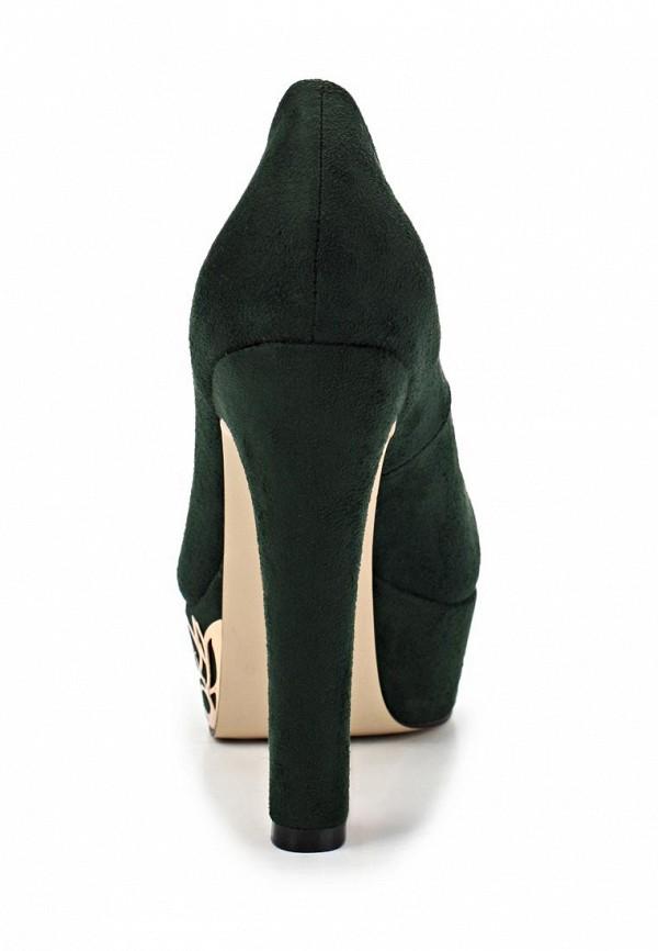фото Туфли на платформе и высоком каблуке Inario IN029AWCMH09, зеленые