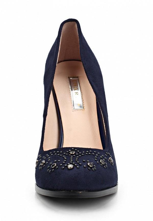 фото Туфли на толстом высоком каблуке Inario IN029AWCMH20, синие