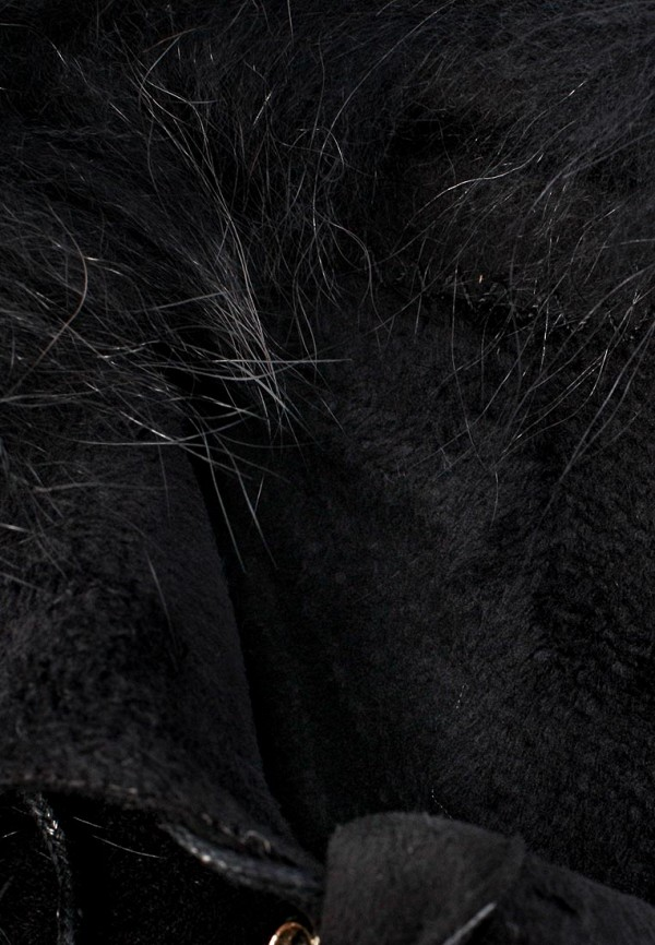 фото Ботильоны на платформе Inario IN029AWJR499, черные/каблук/шнуровка