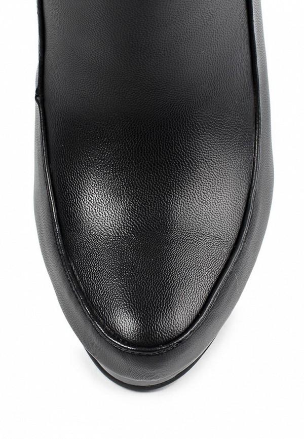 фото Ботильоны женские на толстом каблуке Inario IN029AWJR652, черные