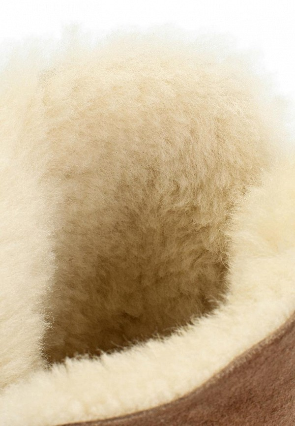 фото Сапоги женские на плоской подошве Inario IN029AWJR769, коричневые