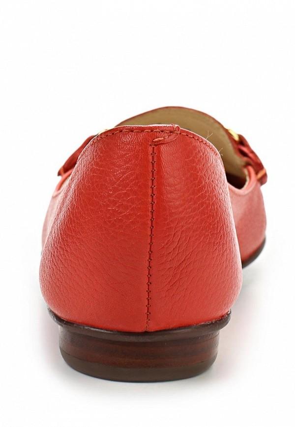 фото Мокасины женские Indiana IN030AWAPH85, красные кожаные
