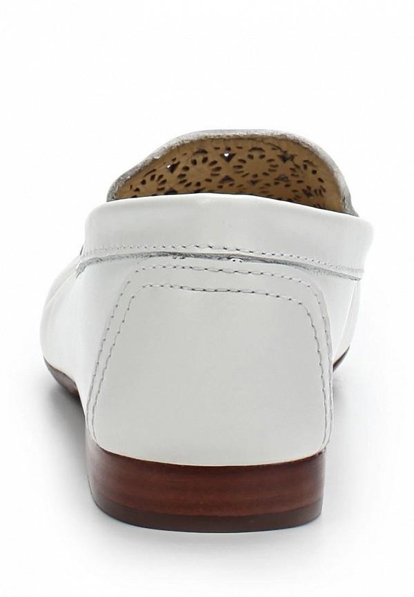 фото Лоферы женские Indiana IN030AWAPI59, белые/каблук