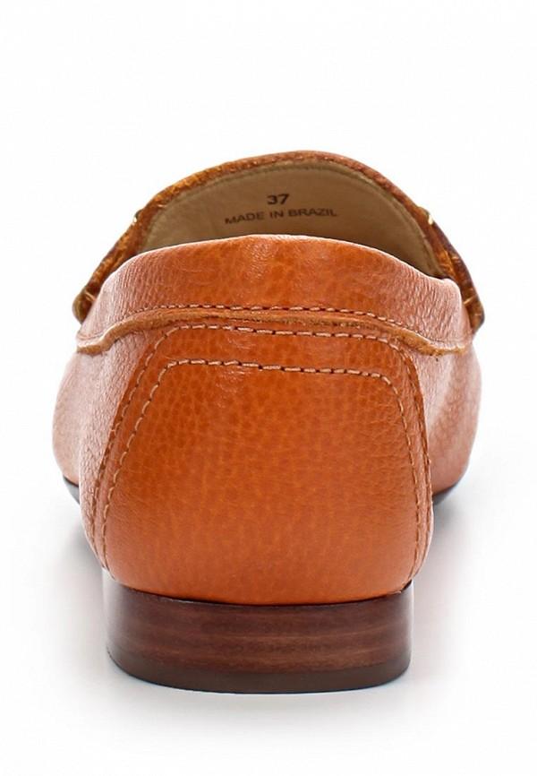 фото Лоферы на каблуке Indiana IN030AWAPI74, коричнево-оранжевые
