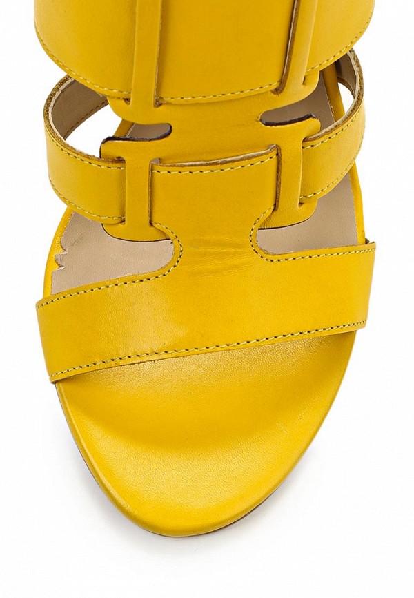 фото Босоножки на толстом каблуке Indiana IN030AWAPI89, желтые