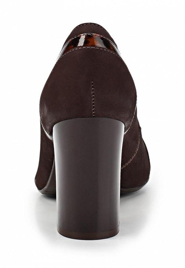 фото Туфли на толстом каблуке Indiana IN030AWCNK07, коричневые