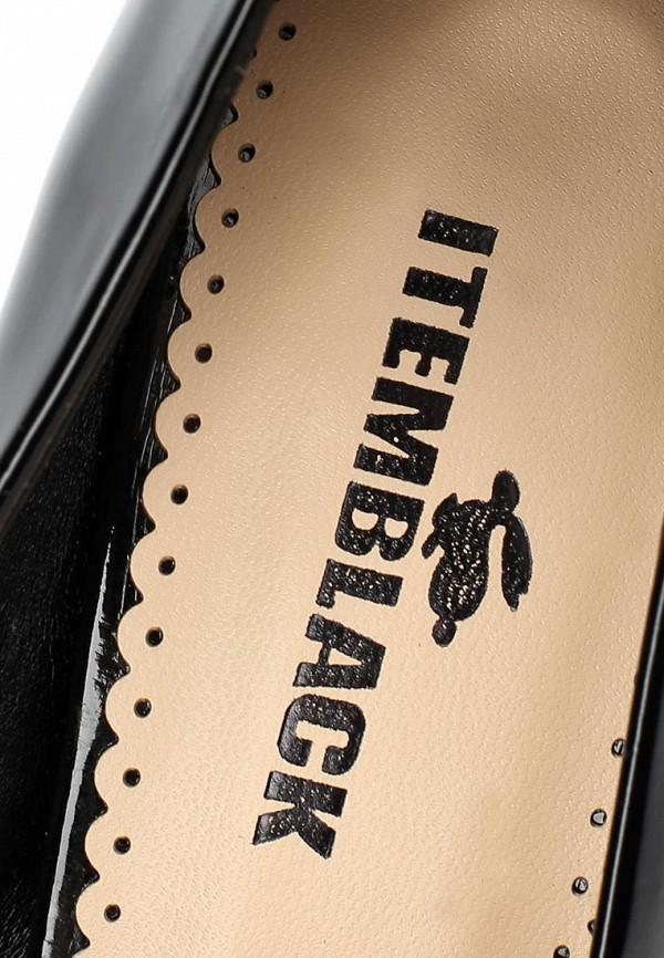 фото Туфли на каблуке Item Black IT004AWCJX66, черные лакированные