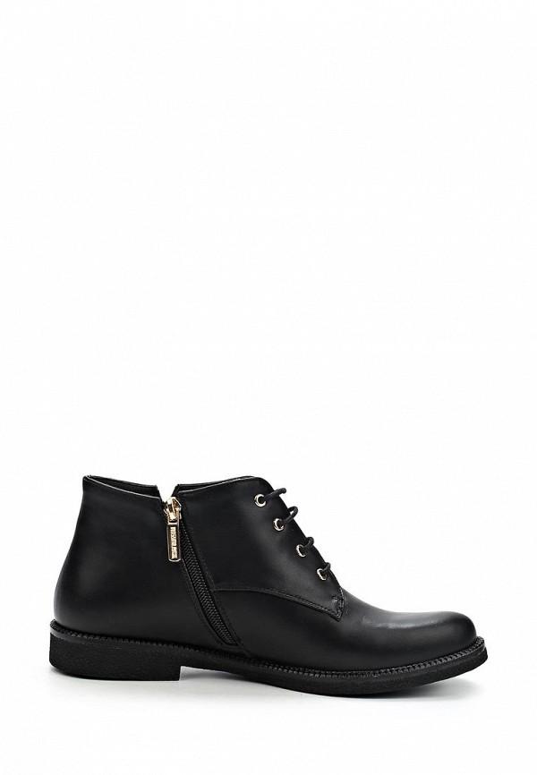 фото Ботинки женские Item Black IT004AWCJX67, черные кожаные