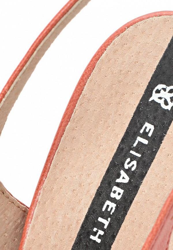 фото Босоножки закрытые на каблуке J&Elisabeth JE031AWAKN13, розовые