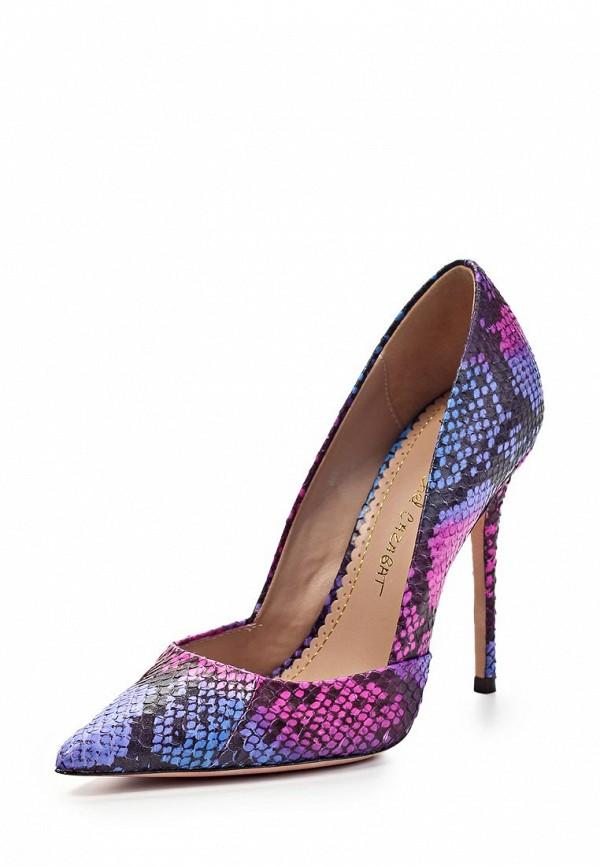 Туфли Jean-Michel Cazabat JE127AWFP055. Цвет: розовый, синий
