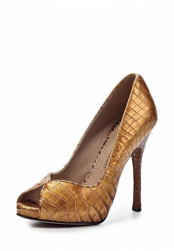Туфли Jean-Michel Cazabat JE127AWIM490. Цвет: бронзовый