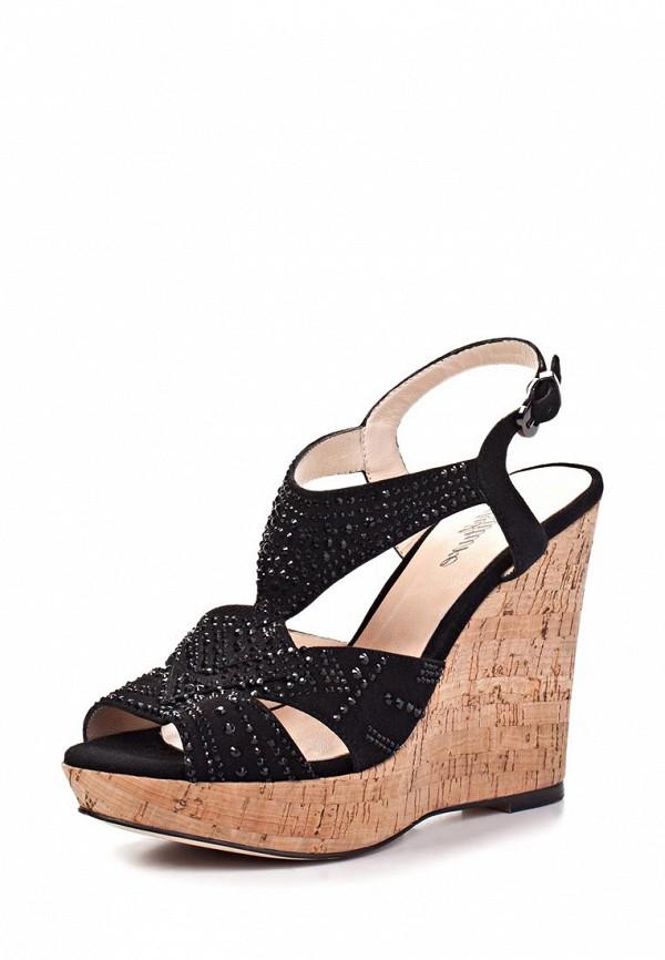 фото Босоножки на платформе Just Couture JU663AWAGS01, черные