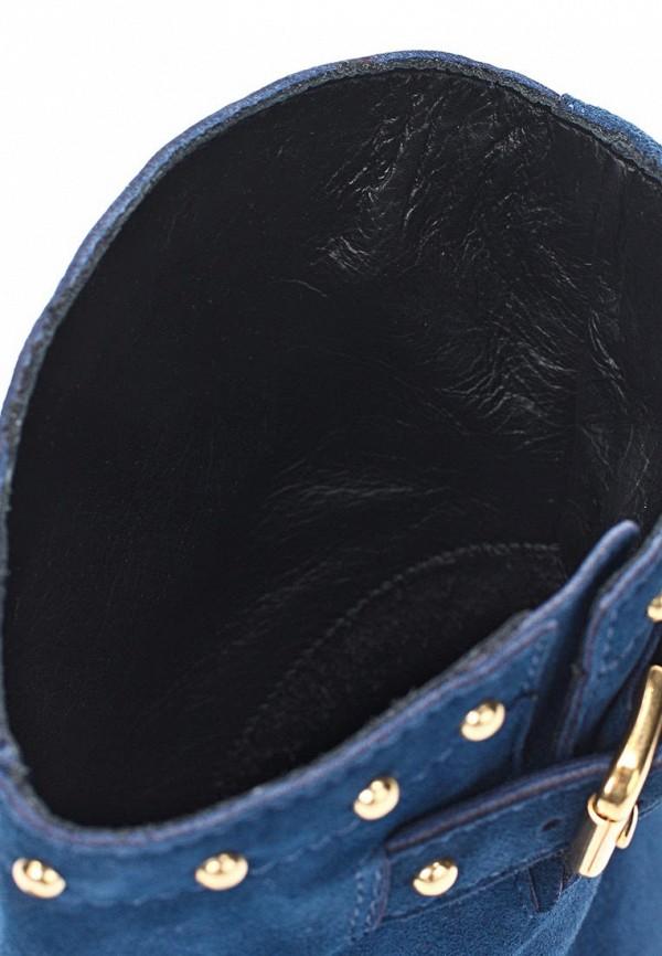 фото Женские полусапожки на каблуке Kate KA001AWKI209, синие