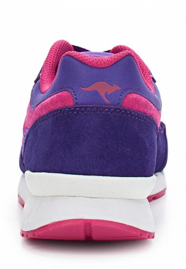 фото Кроссовки женские KangaROOS KA308AWAXB35, фиолетовые