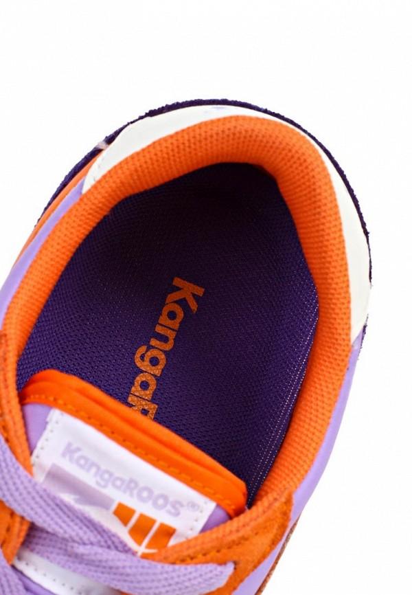 фото Кроссовки женские KangaROOS KA308AWAXB46, оранжево-фиолетовые