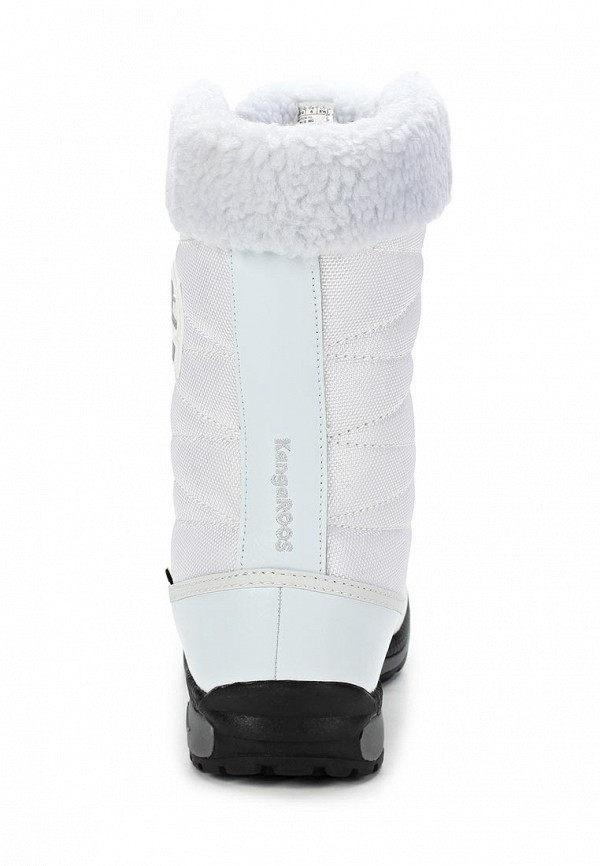 фото Женские полусапожки на шнуровке KangaROOS KA308AWCMX34, белые