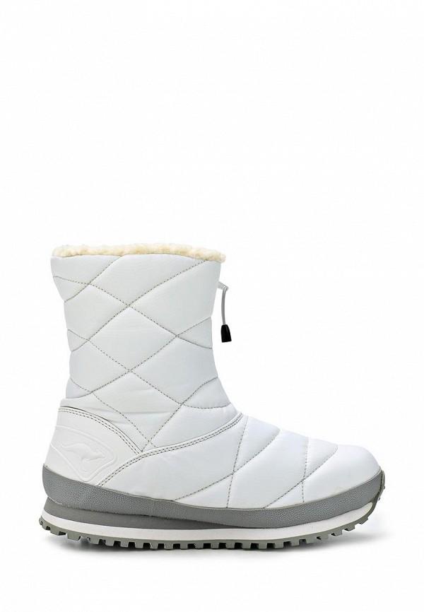 фото Дутики женские короткие KangaROOS KA308AWCMX36, зимние белые