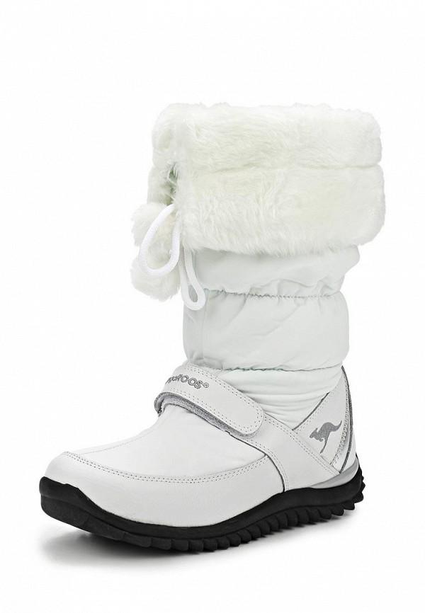 фото Сапоги-дутики женские зимние KangaROOS KA308AWCNC0, белые