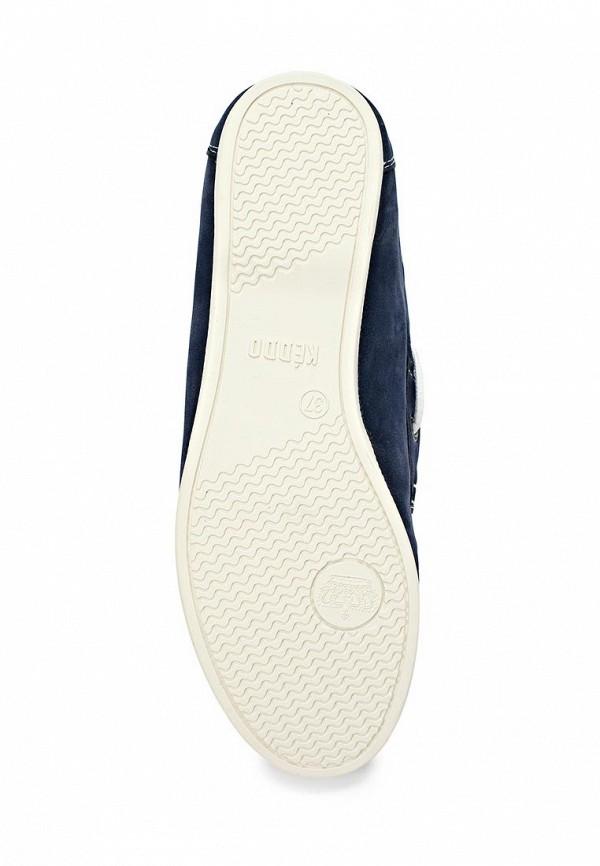 фото Мокасины женские Keddo KE037AWAJL67, синие со шнурками