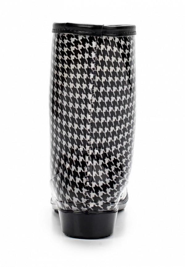 фото Женские резиновые полусапоги Keddo KE037AWAJN45, черно-белые
