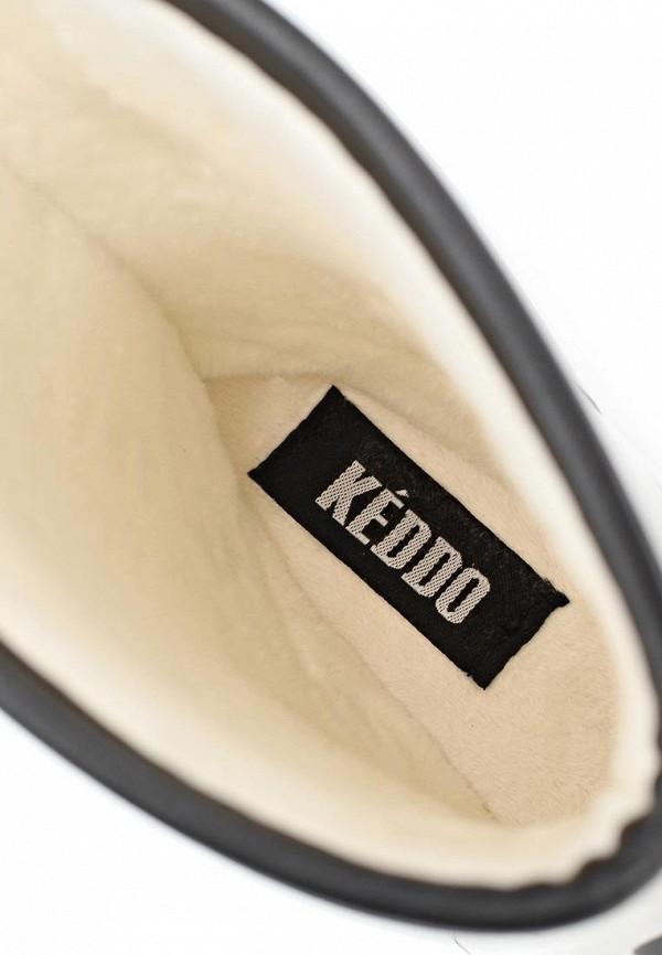 фото Женские резиновые полусапоги Keddo KE037AWAJN51, белые