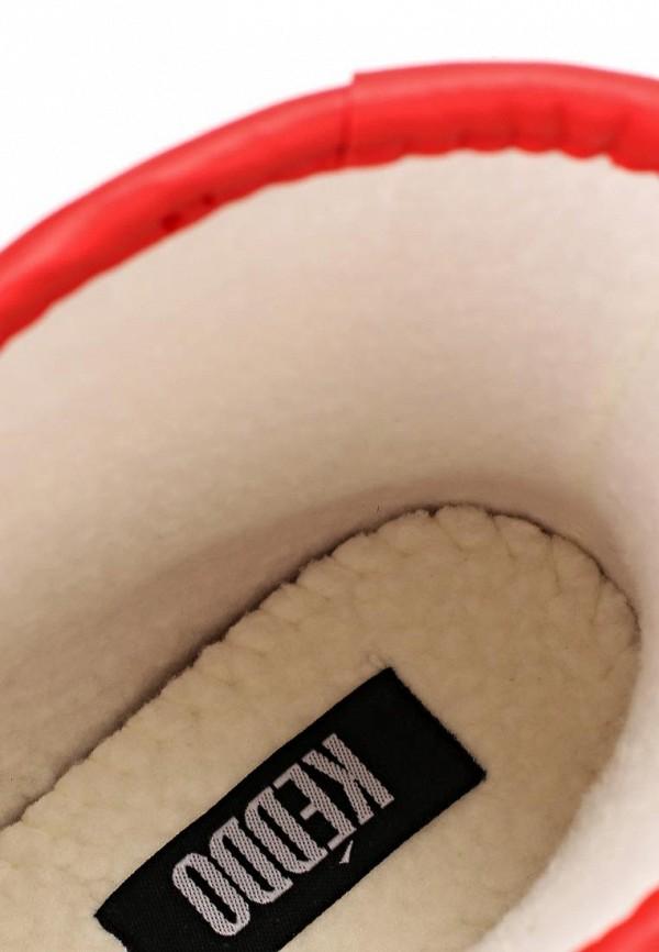 фото Женские резиновые сапоги Keddo KE037AWAJO55, низкие красные