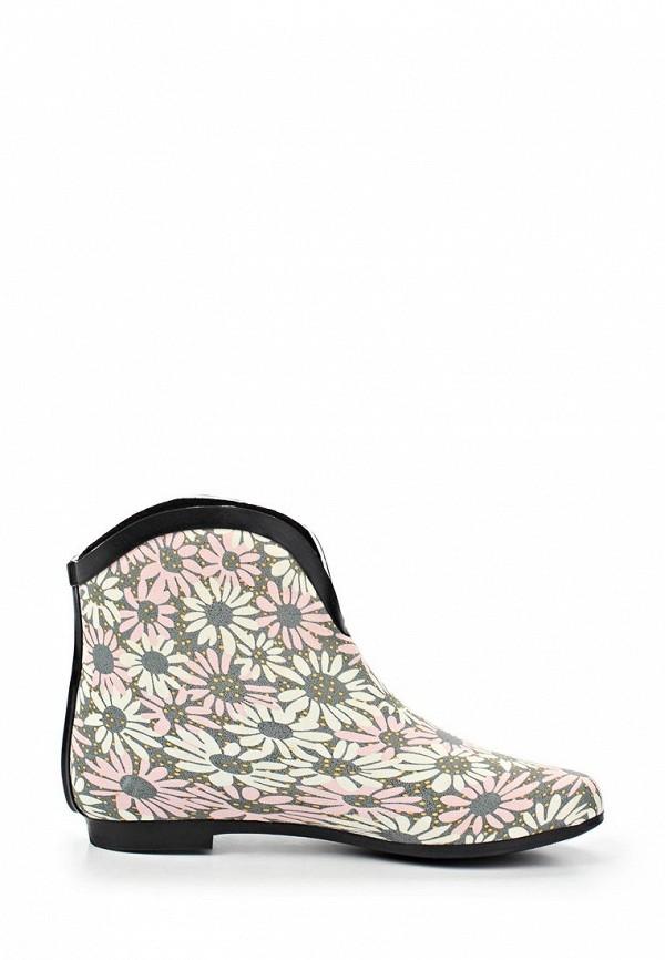фото Женские резиновые полусапожки Keddo KE037AWAJO73, с цветами