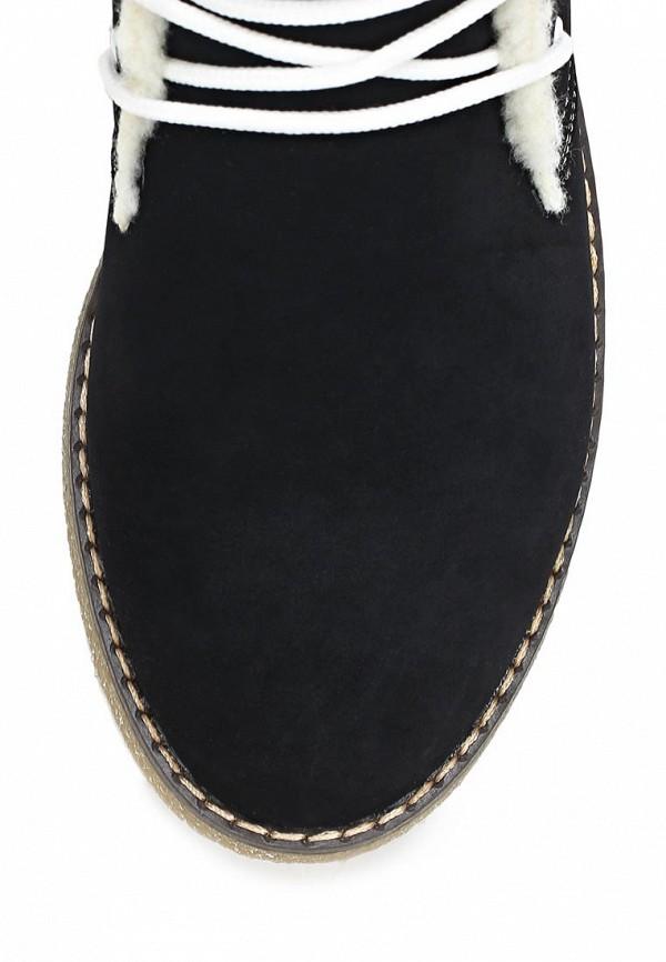 фото Ботинки женские Keddo KE037AWCGT21, черного цвета