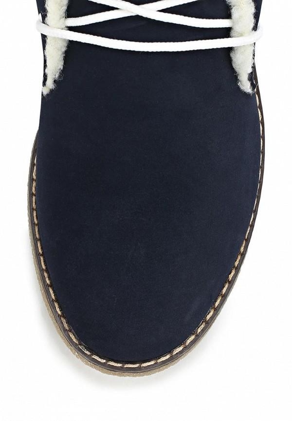 фото Ботинки женские Keddo KE037AWCGT22, синие на шнурках