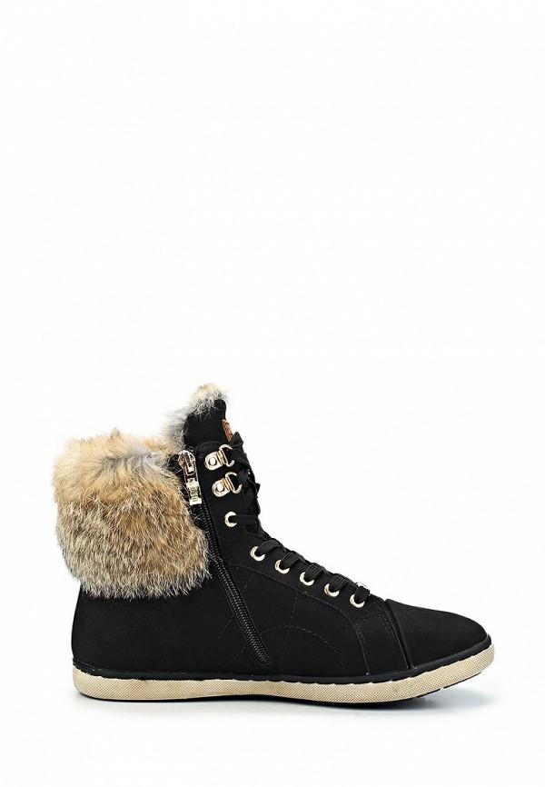фото Ботинки женские на шнурках Keddo KE037AWCGU63, черные