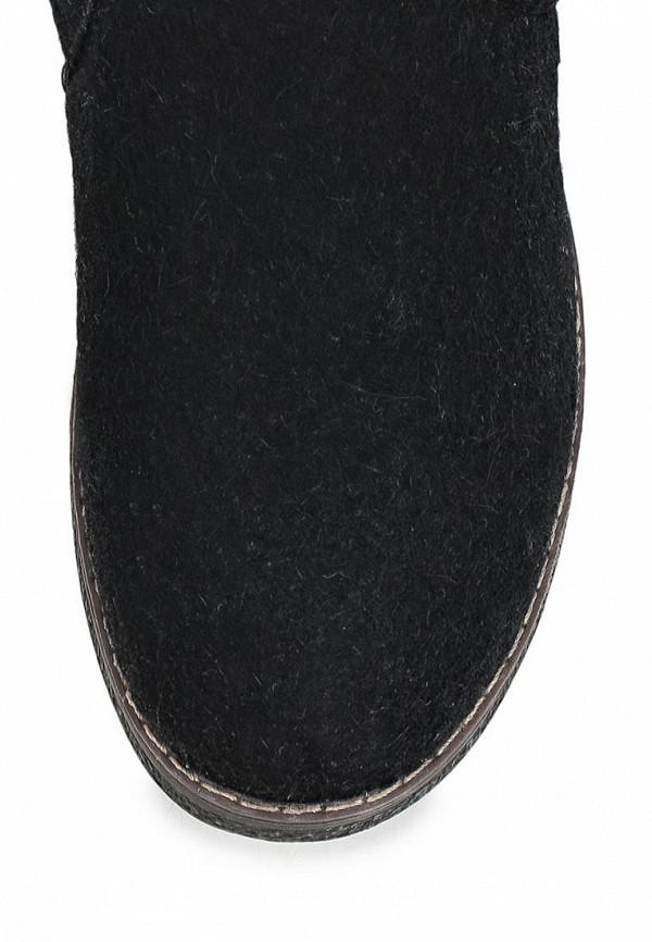 фото Валенки женские Keddo KE037AWCGW45, черные с пуговицей