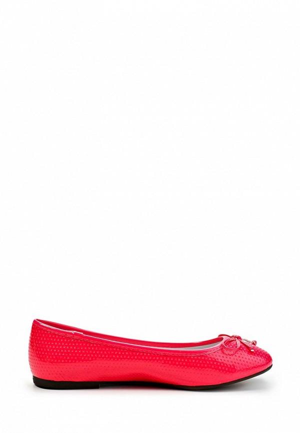 фото Балетки женские Keddo KE037AWFQ300, красно-розовые кожаные