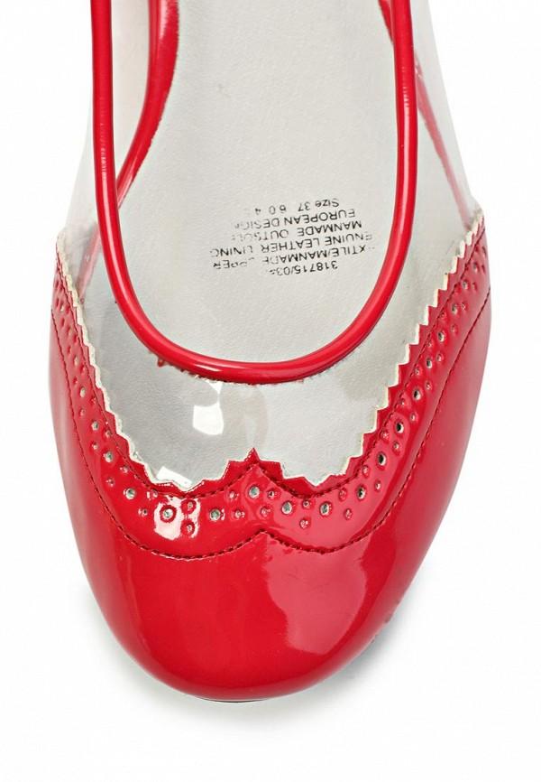 2c49033b2 Купить Балетки женские Keddo KE037AWFQ471, красные/прозрачные по ...