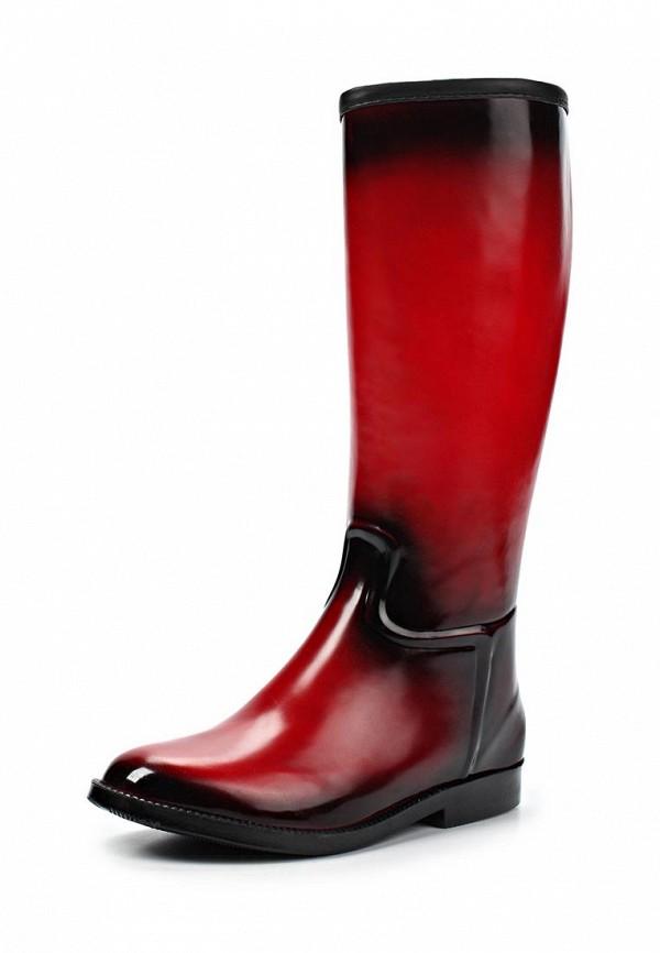 фото Женские резиновые сапоги Keddo KE037AWJK420, красные