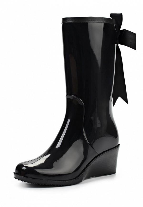 фото Сапоги резиновые женские Keddo KE037AWJK430, черные