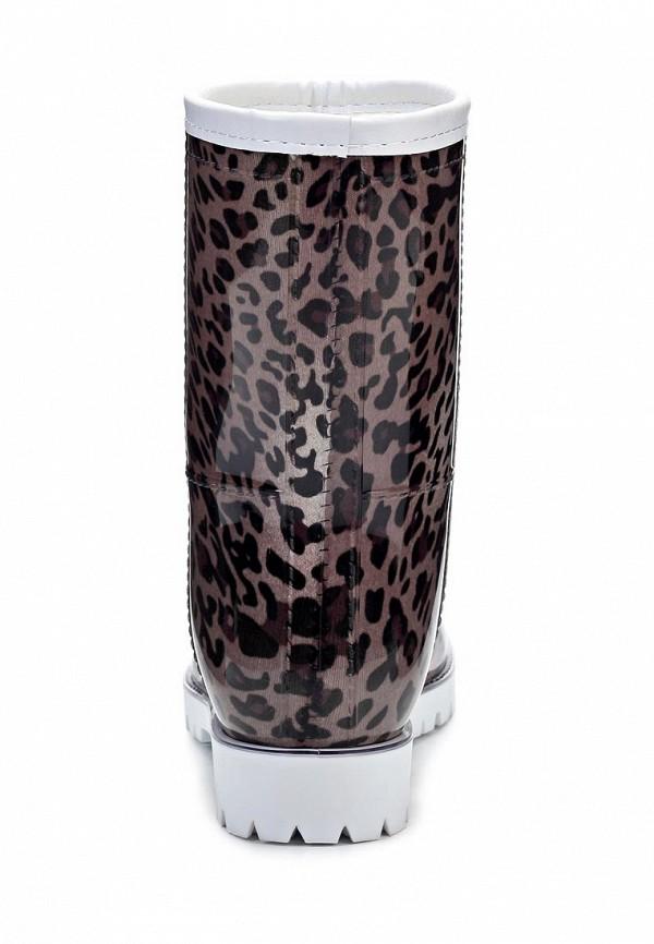 фото Женские резиновые полусапоги Keddo KE037AWJK503, леопардовые