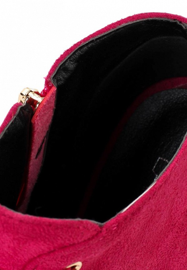 фото Ботильоны на высоком каблуке Lamania LA002AWAAB19, фуксия/шнуровка