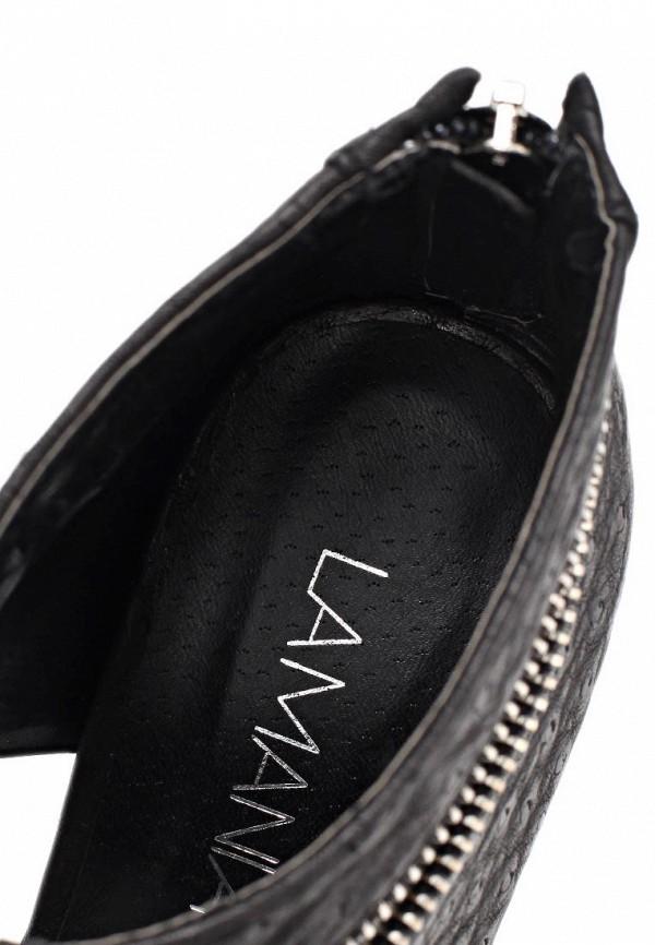 фото Босоножки на каблуке Lamania LA002AWAAB97, черные