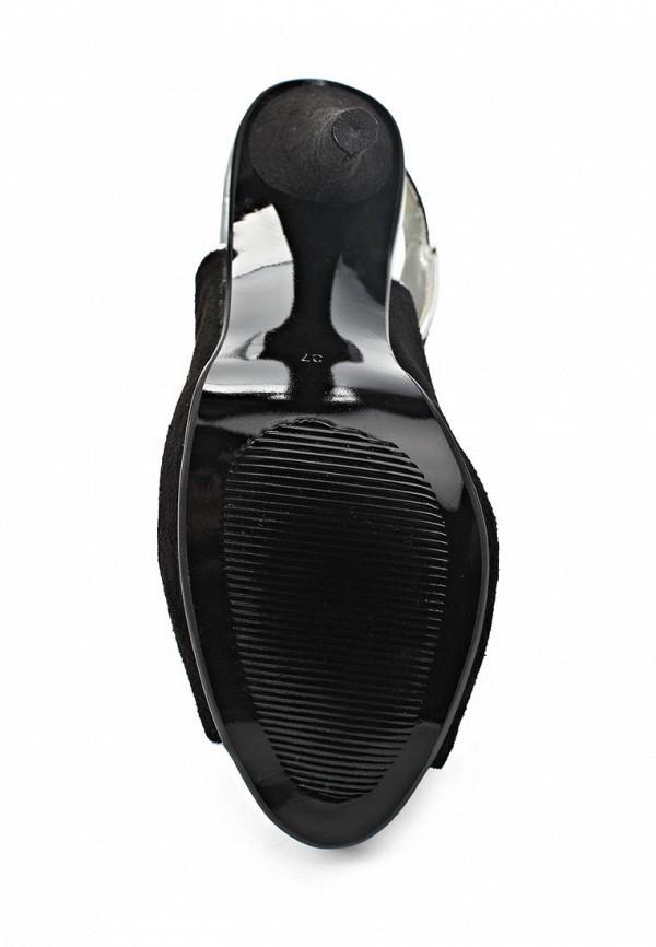 фото Босоножки на каблуке Lamania LA002AWAAC01, черные