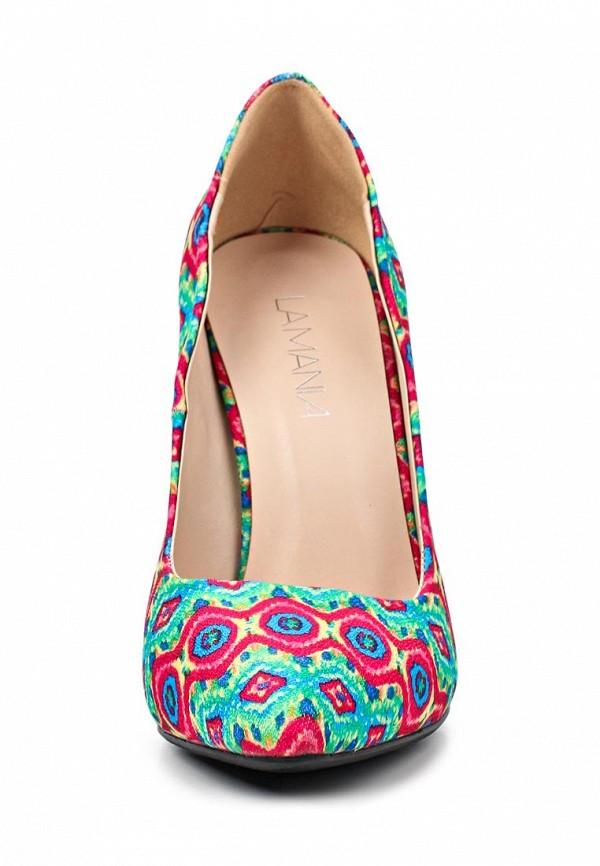 фото Женские яркие туфли на каблуке-шпильке Lamania LA002AWAAC94, цветные