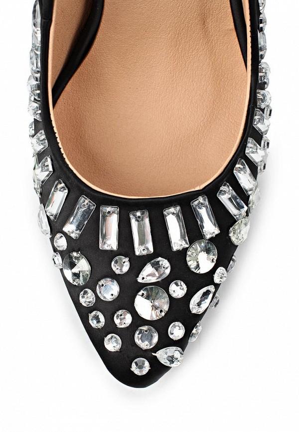 фото Женские туфли на каблуке Lamania LA002AWAAC97, черные со стразами