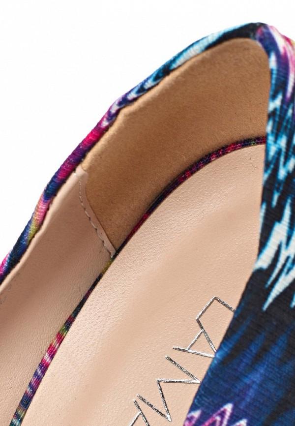 фото Яркие цветные туфли на шпильке Lamania LA002AWAAD03, женские